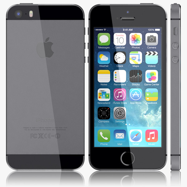 apple iphone 5s noir 16go grade b reconditionn neuf debloqu. Black Bedroom Furniture Sets. Home Design Ideas